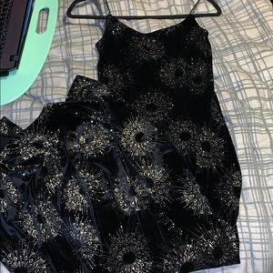 Floor Length Dress with Slit